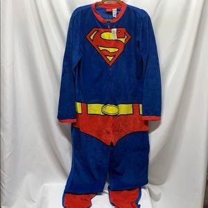 Men's Size Medium Superman Pajamas